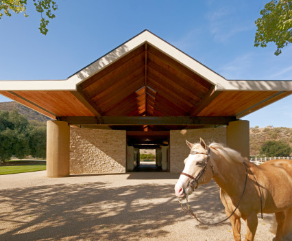 Hospitality photographer Stone Canyon Ranch Entrance